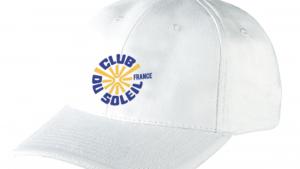 Casquette coton 100% Club du Soleil France