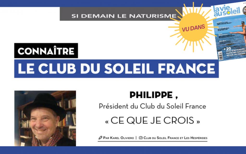 Interview Club du Soleil